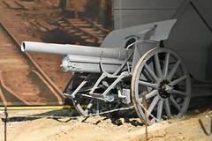 10.5cm Field Howitzer (Bri_J) Tags: landwarfarehall iwm duxford cambs uk iwmduxford nikon d7200 105cm fieldhowitzer artillery wwi germanarmy howitzer