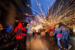 Rain Of Fire (Sergi_Escribano) Tags: sergiescribanophotography sergiescribano barcelonastreetphotography streetphotography city correfocs lamerce2016 lamerce catalunya catalonia streetsofbarcelona fire rain storm sparks
