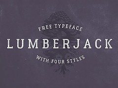 Free Lumberjack: Free typeface with 4 styles (vectorarea) Tags: fonts freefontbest serif