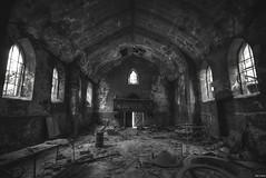 lost faith (Strange Artifact) Tags: sony a7r fe 1635 f4 za oss t carl zeiss variotessar urbex urban exploration ue abandoned decay belgium dust church