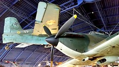 Messerschmitt Me.163B-1 Komet c/n 191316 Luftwaffe serial 191316 & Hawker Hurricane I c/n W/O-5422 Royal Air Force serial L1592 (sirgunho) Tags: london science museum united kingdom england preserved messerschmitt me163b1 komet cn 191316 luftwaffe serial hawker hurricane i wo5422 royal air force l1592 163