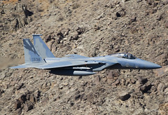 USAF F-15C Eagle 78-0538 (birrlad) Tags: rainbow canyon death valley california usa low level flying flypast flyby aircraft aviation airplane airplanes flyover fast jet fighter attack supersonic usaf f15c eagle 780538 mcdonnell douglas force air united states