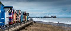 Cromer Beach Huts & Pier (Michael N Hayes) Tags: beach pier seaside norfolk huts beachhuts cromer
