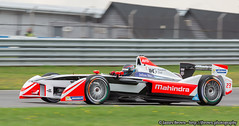 Mahindra Racing Mahindra M2ELECTRO (Nick Heidfeld) (James.Brown.Photography) Tags: park test brown car race photography james photo championship day sony nick racing e formula session alpha fia donington mahindra 2015 heidfeld m2electro