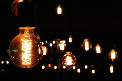 (light in the dark) (ChenLiang0729) Tags: bulb dark shine taichung   ligjt