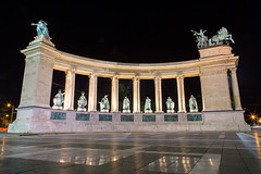 Heroes Square,Budapest, Hungary, Europe