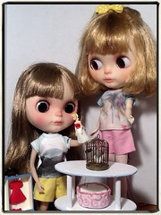 Blythe-a-Day August#19: Minions: Queen Marcelle and Traitor Barbie