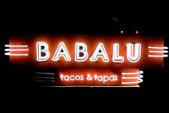 Babalu (Mr Imperfection) Tags: mississippi restaurant tacos jackson neonsign babalu fondren
