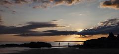 Waiting for a Nibble (explored) (yadrad) Tags: sunset seascape southwest fishing cornwall whitsandbay bite thewestcountry beachcasting tregonhawke