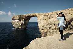 Shooting Azure Window (JarHTC) Tags: malta fujifilm shooter 12mm gozo azurewindow samyang xe2 soocjpeg classicchrome