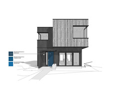 Grade House в Ванкувере от Measured Architecture