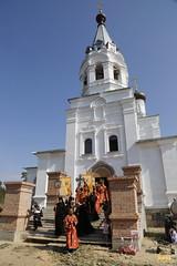 060. Patron Saints Day at the Cathedral of Svyatogorsk / Престольный праздник в соборе Святогорска