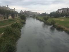 Plou al Segre el dia de Sant Miquel a Lleida. (adolffn) Tags: a1 excursi elsegri