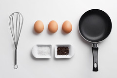Scrambled eggs ingredients (bogdandimages) Tags: above morning food white cooking yellow breakfast paper recipe healthy raw view top object egg salt fresh meal pan making overhead isolated omelet scrambled preparing organized omlette beater ingredient uncooked