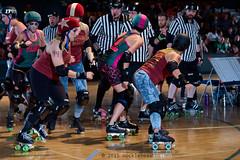rebels_vs_panic_L3506413 1 (nocklebeast) Tags: ca usa santacruz rollerderby rollergirls zombies vampires skates organicpanic santacruzderbygirls redwoodrebels