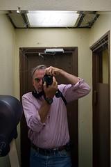 Self-Portrait, Arthur Bryant's Barbeque (jjldickinson) Tags: selfportrait bathroom restaurant mirror kansascity missouri barbecue barbeque metaphotography jacobdickinson arthurbryantsbarbeque promaster52mmdigitalhdprotectionfilter nikon1855mmf3556gvriiafsdxnikkor