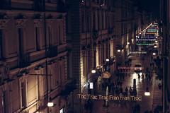 Tric Trac Trac Fran Fran Troc (Rebel Yell 82nd) Tags: street people italy night torino nikon italia persone luci turin notte lucidartista viagaribaldi d610