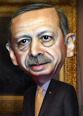 Recep Tayyip Erdogan - Caricature (DonkeyHotey) Tags: art face photomanipulation photoshop turkey photo political politics cartoon manipulation caricature politician campaign karikatur caricatura primeminister commentary politicalart karikatuur politicalcommentary receptayyiperdogan twitter donkeyhotey