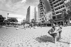 Brazilian flag (Explore) (Vinicius_Ldna) Tags: street brazil people bandeira brasil downtown flag centro fisheye explore brazilian 8mm londrina calçadão samyang explored 8662 rokinon 201599 explorenov20