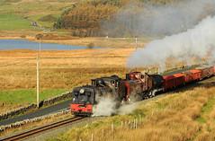 WHR 39004cr (kgvuk) Tags: trains locomotive railways 87 steamtrain steamlocomotive 138 rhydddu garratt welshhighlandrailway narrowgaugerailway whr beyergarratt ngg16 pittshead 262262t