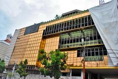 Killing a Golden-Clad Lowrise (BxHxTxCx (using album)) Tags: jakarta building gedung destroyed architecture arsitektur