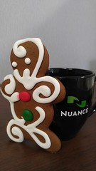 1216151153a (Michael C Meyer) Tags: christmas work lunch communications nuance gingerbreadmancookie