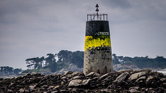 Perroch Beacon (Ruth Flickr) Tags: batz beacon brittany city17 enezvaz finistère france roscoff spring coast labalise sea tower îledebatz