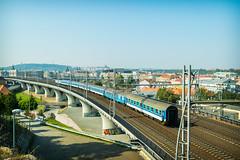 Czech railways (AlyonaOrlova) Tags: nikon d5300 city prague czech railways train drive