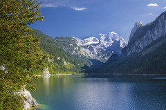 Gosausee (Tomsch) Tags: gosausee gosau see lake nature natur landscape landschaft water wasser tourismus tourism mountains berge sky himmel salzkammergut obersterreich upperaustria