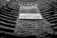 Maddalena Church (Alba) (Graham T (gtownsend@ntlworld.com)) Tags: blackwhite italy maddalena alba