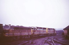 Erie Lackawanna F7 6341 (ERIE1960) Tags: railroad railfan trains erielackawanna newjerseyrailroads emd locomotive sd45 f7