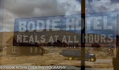 Bodie Hotel reflection (Alaskan Dude) Tags: travel california bodie bodiestatehistoricalpark ghosttown bodiestatepark architecture landscape scenery outdoor