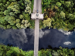Dromana Gates (Vytenis Malisauskas) Tags: drone aerial above bridge ireland hindu dromana typhoon gates