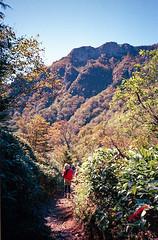 Main peak (peroparo) Tags: olympusxa gold400 hike