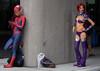nycc2016-081053 (Mark J. Stein) Tags: 2016 nycc photobymarkjstein photobymarkstein cosplay newyork newyorkcomiccon nycc2016 spiderman starfire