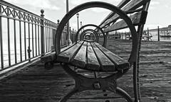 (katiegodowski_photography) Tags: blackwhite black white water california monochrome amateurs amateur canon photography boardwalk outside nature