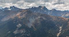 Azurite Peak, Tatie Peak and Mount Ballard (gabe.purpur) Tags: northcascades northcascadesnationalpark mountains cascades azurite ballard tatie larches larch wilderness