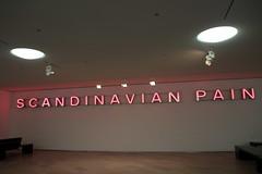 'Scandinavian pain' (Bex.Walton) Tags: travel sweden stockholm art moderna modernart pink neon