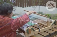 (finalistJPN) Tags: weaving weaver sakiori retrofabric japanesefabric colorfulfabric handmade craft presentingpicturesandphotos ppap japanguide japantrad discoverjapan traveljapan discoverychannel stockphotos