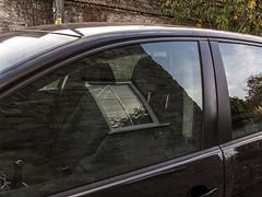 window-cossington_4649-021116 (Peadingle) Tags: car window refelction