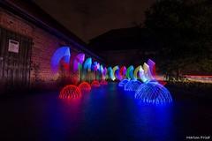 DSC_2556 (Marlon Fried) Tags: light painting lightpainting lichtmalerei langzeit colors nacht night