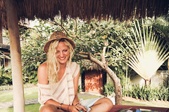 Me in the Camp trying to find words to write down (Susi Supertramp) Tags: bali indonesia travel sunshine summer palmtrees indo asia surfing surfergirl dreaming dreamer daydreamer traveler earthling oceanlover lover lovemore staygolden photography photographymatters nature beach beachlife seaside ocean