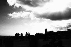 Sacre soste (angelapupillo) Tags: pausa sosta nuvole clouds cielo sky bw