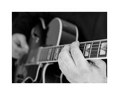 11-guitar (Roberto Gramignoli) Tags: blackandwite bw jazz musica music chitarra guitar suonare play playguitar mano mani hand strumentimusicali musicinstruments