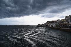 Koroni storm (sarah_presh) Tags: storm greece koroni peleponnese clouds grey sea weather nikond750
