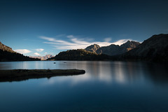 nouvielle (mil00z) Tags: mountains lake lac pyrnes nouvielle aumar tokina lee long exposure blue