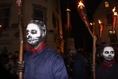 Sugar Skulls (mcginley2012) Tags: macnas savagegrace streettheatre street performers galway ireland sugarskulls torch fire