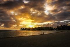 Mauritius - Morning majesty (marionchantal) Tags: majestic majesty mauritius sunrise sonyilce6000 flacq beach girl east