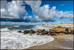 High Tide @ Lido West (Nikographer [Jon]) Tags: lidobeach newyork lbny lb ny clouds sky atlanticocean beach lido nikographer 20160821d810043151 d810 nikon nikond810 aug august summer 2016