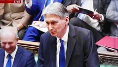 2016 1123 014 (PLX100) Philip Hammond; Autumn Statement (BBC2) (Lucy Melford) Tags: panasoniclx100 parliament houseofcommons autumnstatement chancellor philip hammond